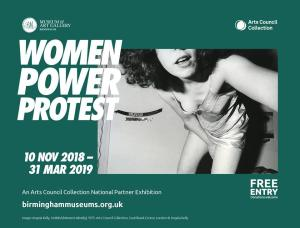 "Margaret Harrison. Group show. ""Women Power Protest"". Birmingham Museum and Art Gallery (Birmingham, United Kingdom). From November 10th 2018 to March 31st 2019"