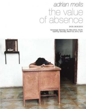 "Adrian Melis. Solo show. ""The Value of Absence"". Kunsthalle Basel (Basel, Switzerland). From March the 24th to May the 26th, 2013"