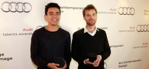 "Iván Argote. Awards Audi. Winner in the category ""Contemporary Art"". June the 3rd, 2013"