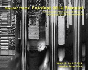Mounir Fatmi. Group Exhibition, FotoFest 2014 Biennial, Houston, U.S.A, from March 15th to April 27 2014.