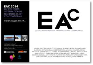 Núria Güell. Group show. XIV Internacional competition contemporary art encounters (EAC 2014). From July 1st to July 26th 2014