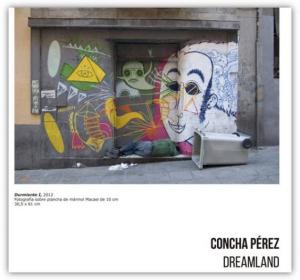 "Cóncha Pérez. Solo show. ""Dreamland"". Centro de Arte Alcobendas (Madrid, Spain). From October 21st to November 29th 2014"