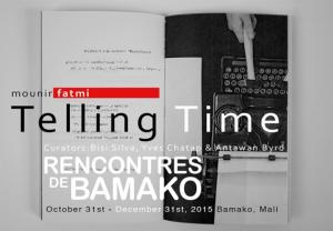 mounir fatmi participates at La Biennale Africaine de la Photographie - rencontres de Bamako -. From October 31st to December 31st 2015. Bamako, Mali